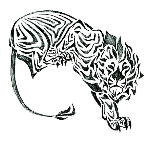 Tribal Lion Tattoo Designs And Meaning Crazywidowinfo