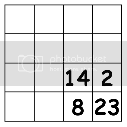 4 by 4 grid Puzzle 4