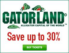 Gatorland - Save 30% on Tickets!