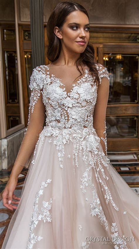 Best 25  Crystal wedding dresses ideas on Pinterest