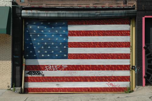 flag garage