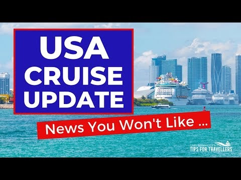 BIG USA CRUISE UPDATE : Not The News You Were Hoping for ?