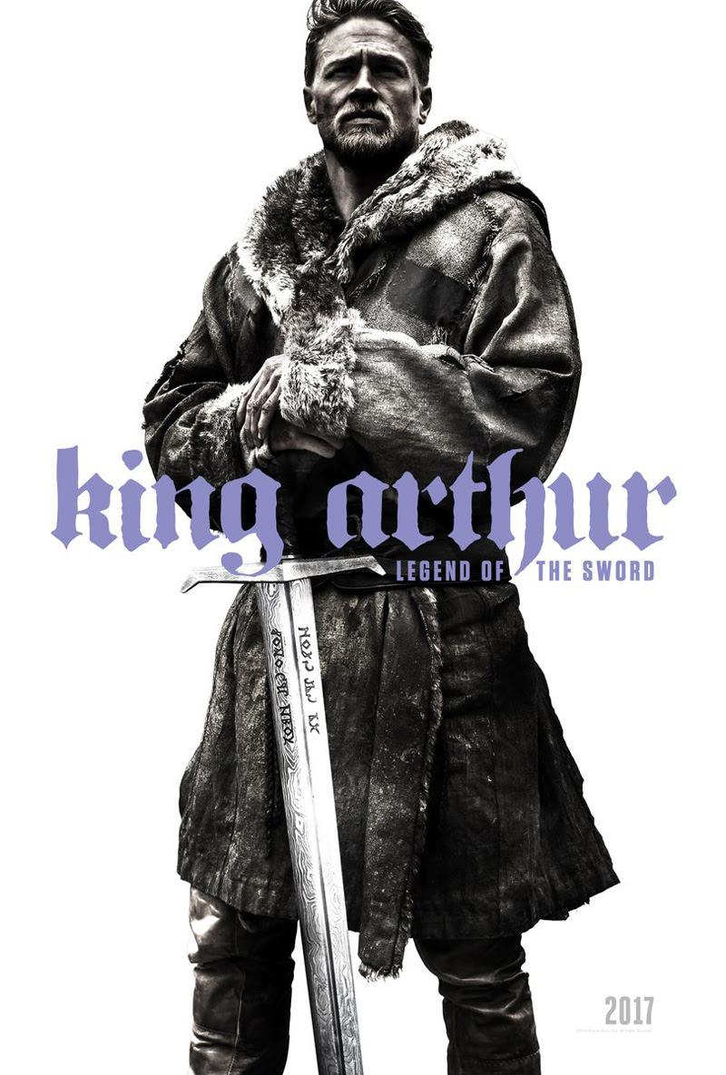 Resultado de imagem para king arthur legend of the sword 2017 posters