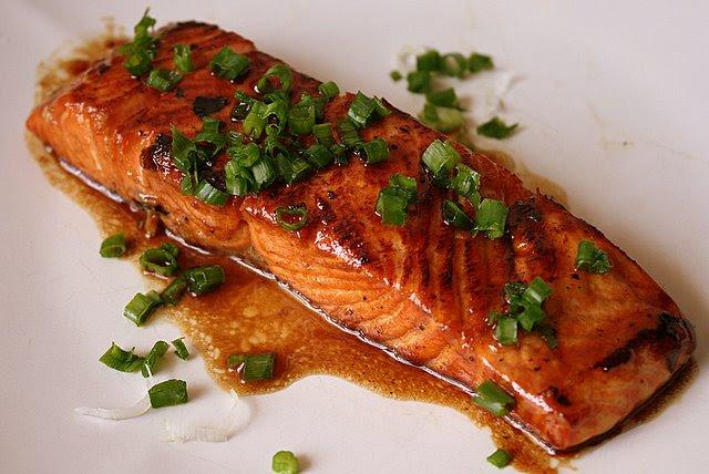 Nigella's Mirin-Glazed Salmon