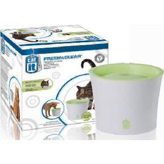 Catit Fresh Clear Drinking Fountain Kohepets