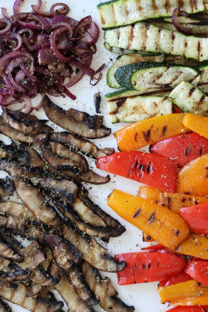 Pesto Grilled Vegetable Paninis