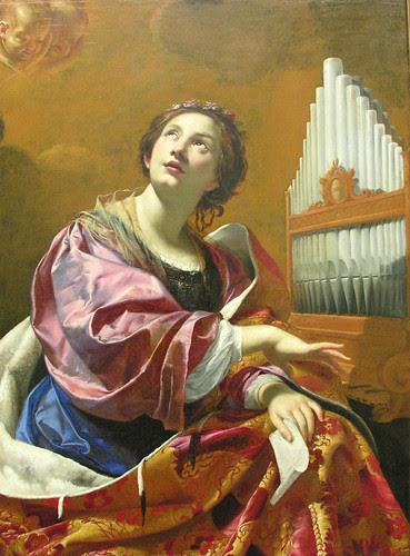 Simon Vouet: St. Cecilia (c. 1626) by euthman