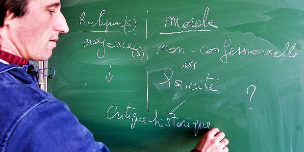 Solo un ocho por ciento de los estudiantes belgas cambian religión por educación a la ciudadanía