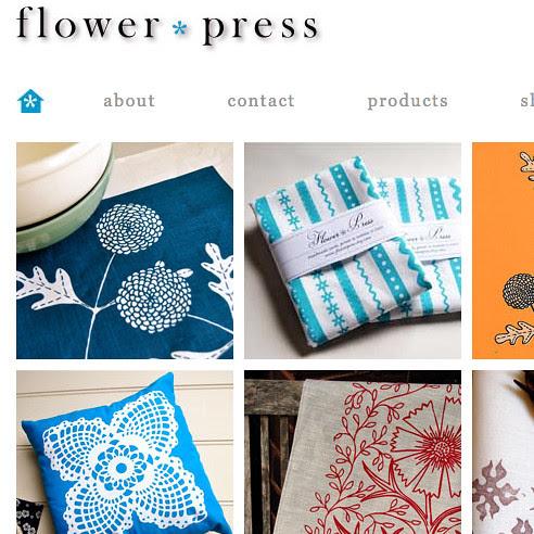 flower press website