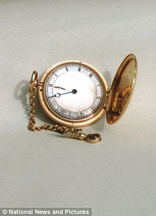 Another one of the watches that were stolen. This one is valued at £10,000