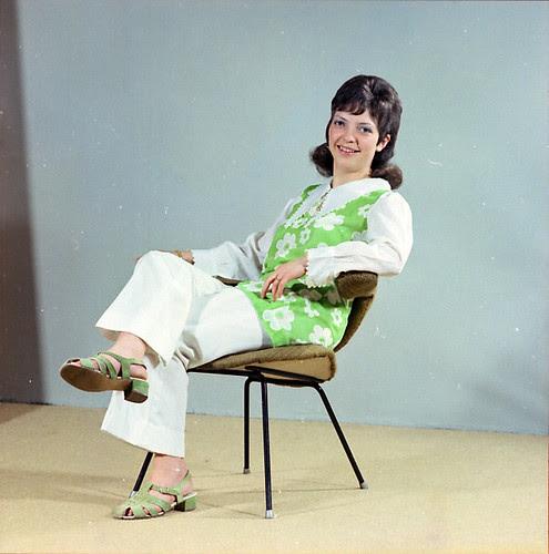 Mejuffrouw van Hoevelen - augustus 1970