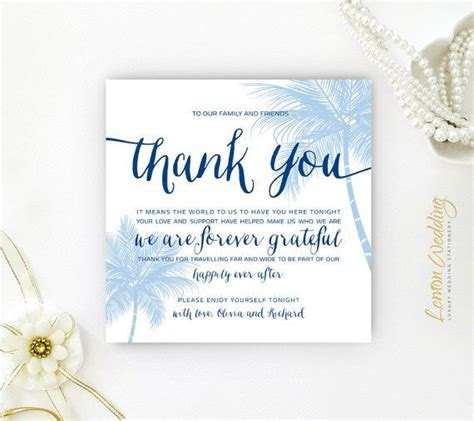 A Welcome/ Thank you Note   Perfect Destination Wedding
