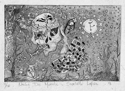 Noche de Muerte. Scarleth Lopez