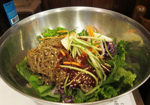 Dinner at Jangchung-Dong Wong Jokbal