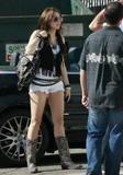 Miley Cyrus Shorts Con Botas