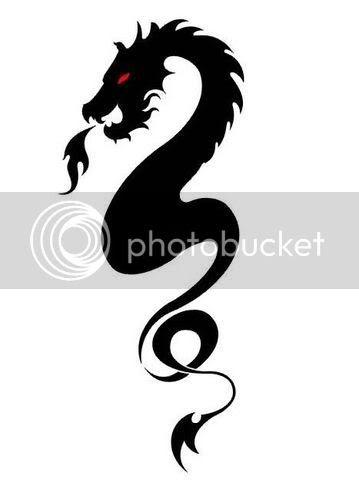Tatoo Modern Dragons Tatto