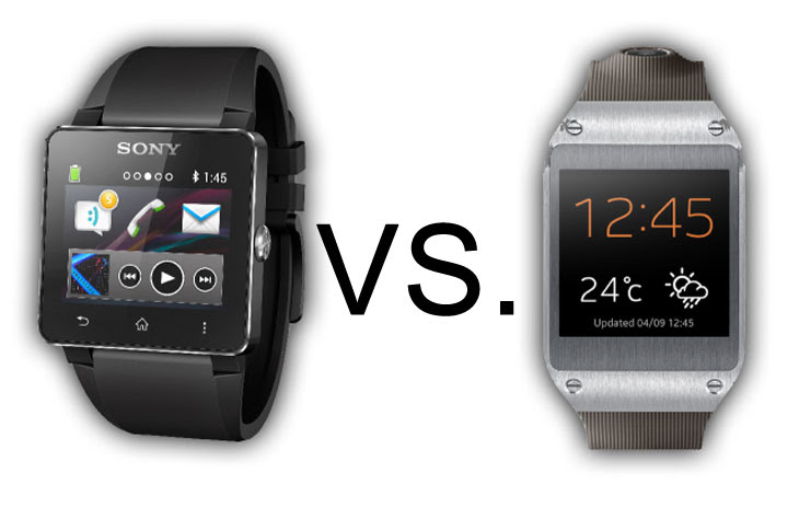 Sony Smartwatch 2 vs Samsung Galaxy Gear
