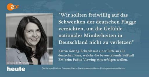 Grüne Deutschlandhasser