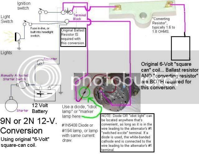 Ford 9n 12 Volt Coil Wiring Diagram