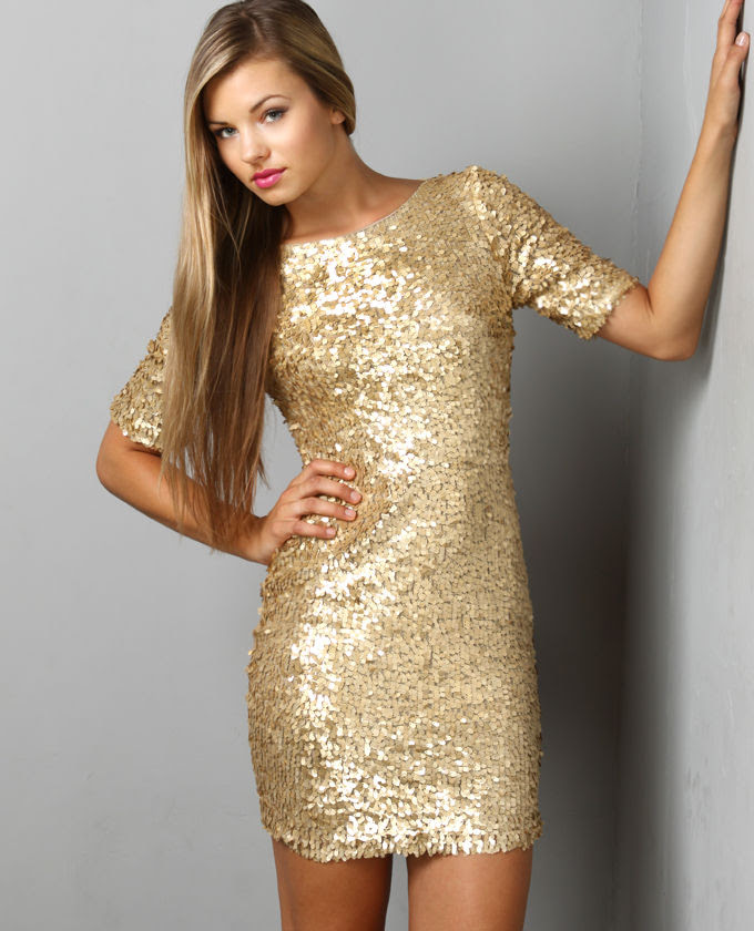 gold sequin dress picture collection  dressedupgirl
