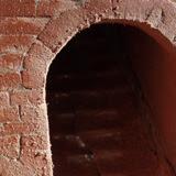 Costruzione 42 - Scala in mattoni 4 e chiusura dei sotterranei