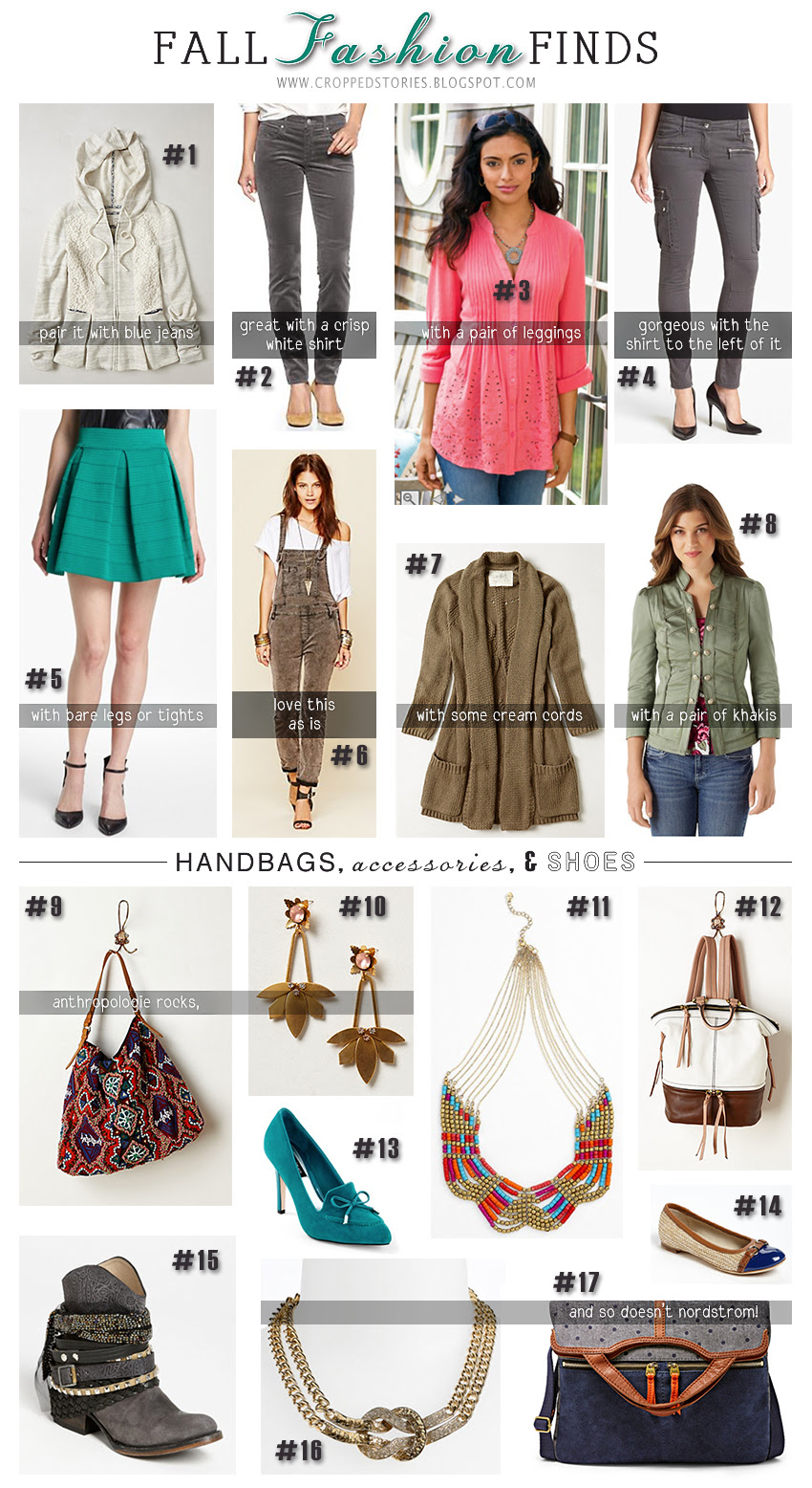FALL FASHION FINDS CLOTHING ACCESSORIES SHOES HANDBAGS