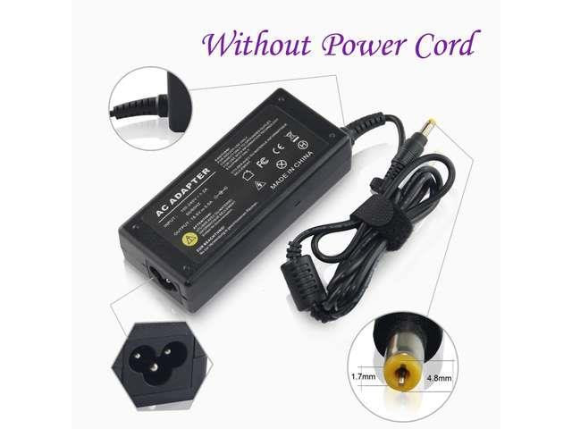 CBD 18.5V3.5A 65W 4.8*1.7 3Pin Laptop Charger AC Adapter Battery Supply Without Power Cord For
