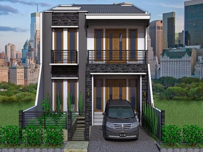 Model Rumah Tingkat 2 Minimalis   Ide Rumah Minimalis