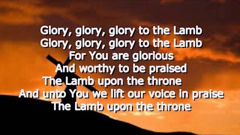 Glory To The Lamb Lyrics Hillsong