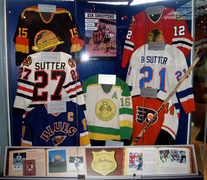 The Sutter display @ HHOF
