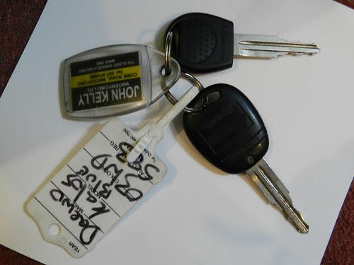 My car keys