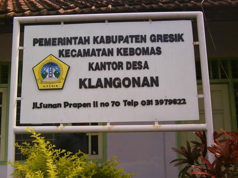 Ulasan Gambar Papan Nama Kantor Desa