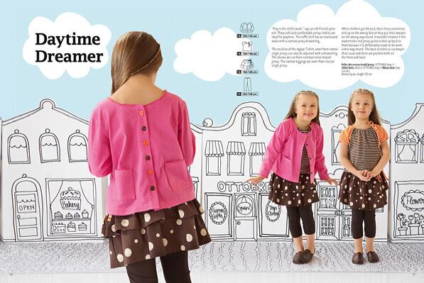Daytime dreamer pattern from Ottobre Spring 2011