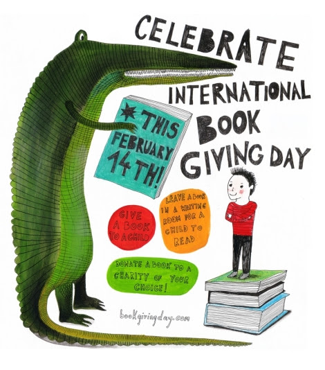 Celebrate International Book Giving Day on February 14th!