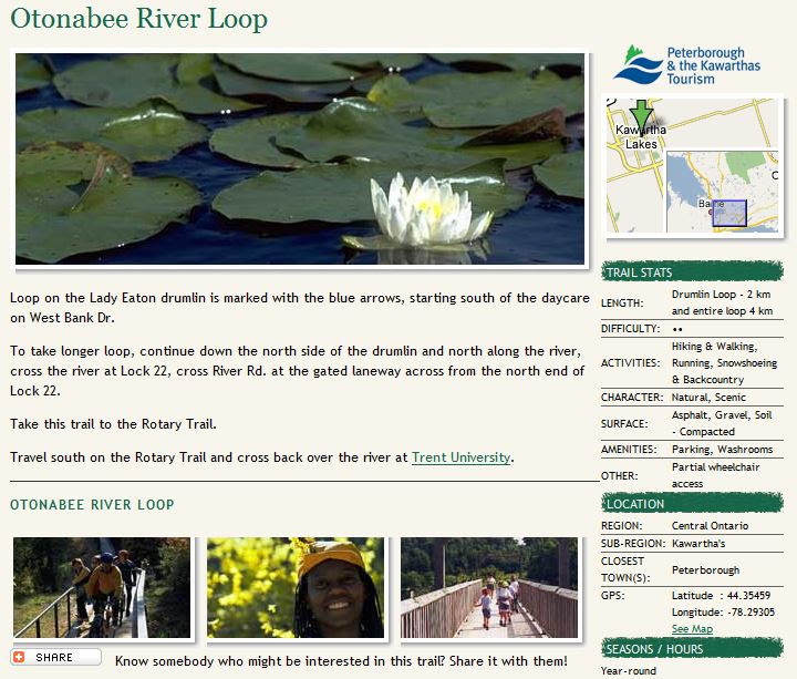 otonobee river loop