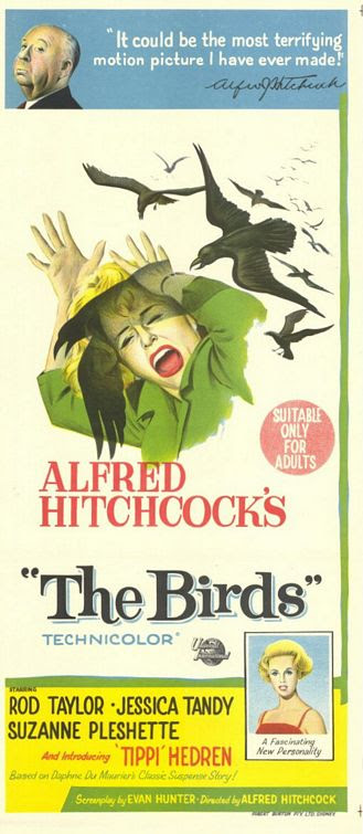 Image result for the birds movie poster