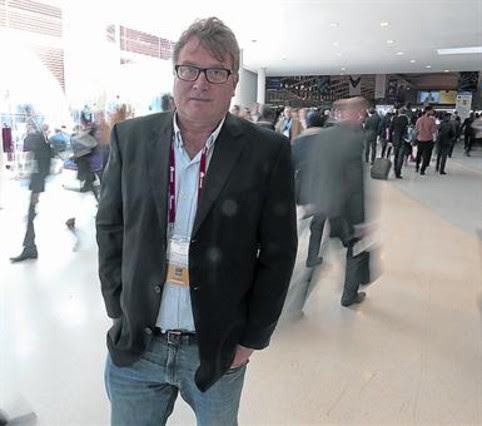 Jon Matonis, ahir, al Mobile World Congress.