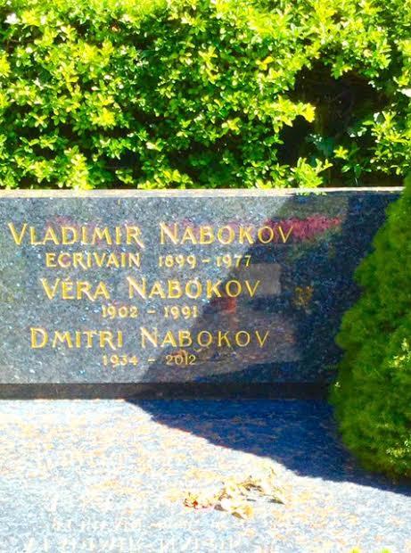 Resultado de imagen de tumba de naBOKOV