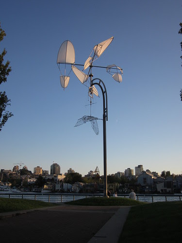 Sculpture by English Bay