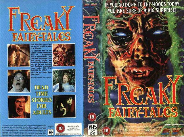 Freaky Fairytales (VHS Box Art)