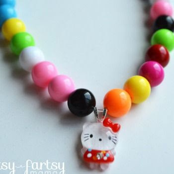 Hello Kitty Bubblegum Necklace