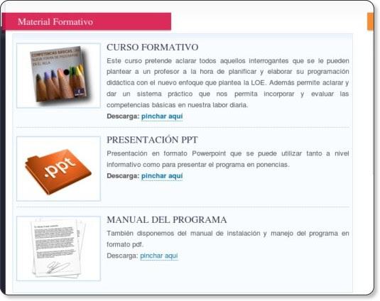 http://redesformacion.jccm.es/pdcgenerator/formacion.html