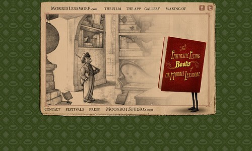 Cool Toys Pic of the day - The Fantastic Flying Books of Mr. Morris Lessmore by rosefirerising