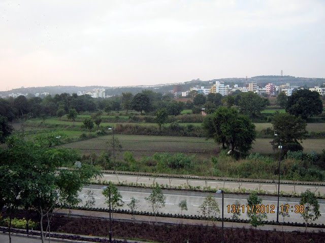 View from SKYi Songbirds at Bhugaon, on Paud Road, Pune 411042