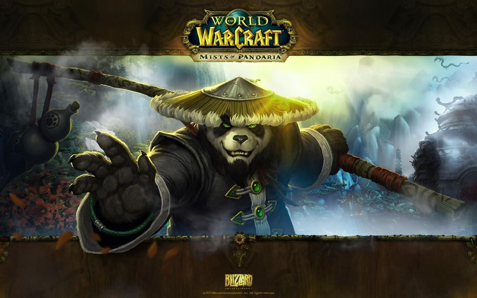 Mists Of Pandaria Animated Wallpaper Full Windows 7 Screenshot