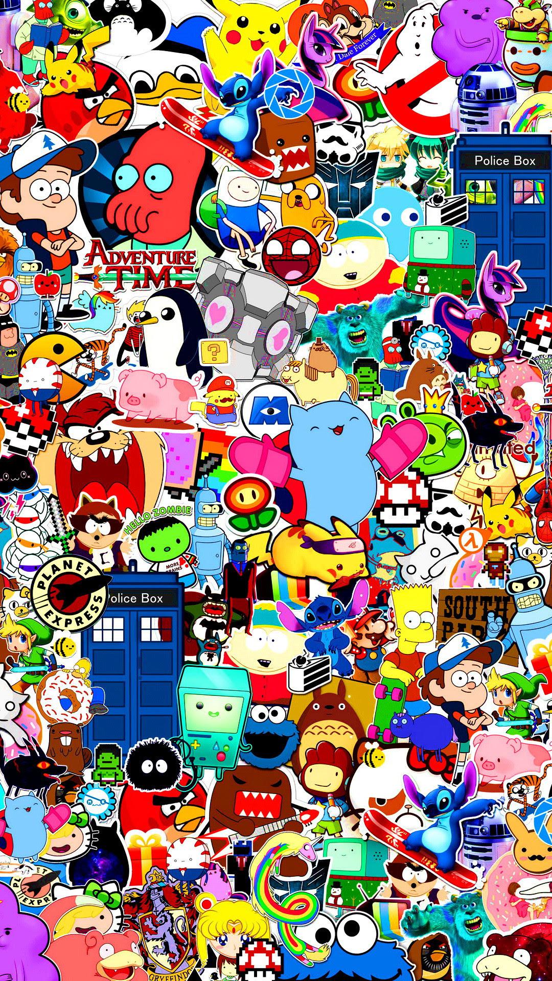 Colorful Doodle Wallpaper Hd
