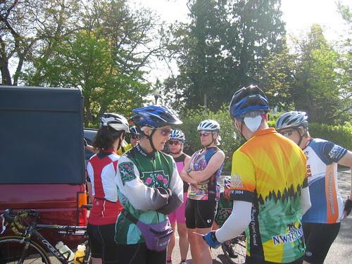 Pre-ride route negotiations