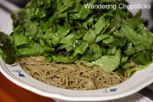 Jaengban Gooksu (Korean Cold Buckwheat Noodle Salad) 5
