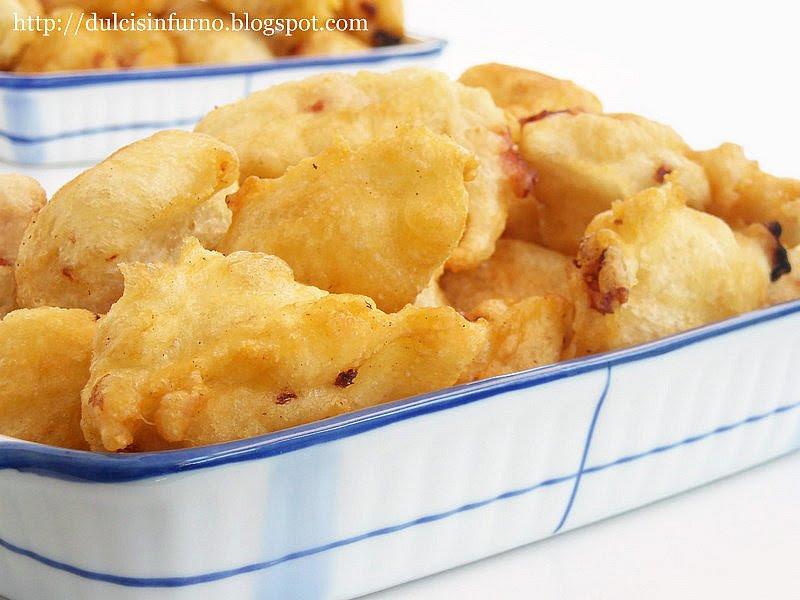 Frittelle al Prosciutto-Ham Fritters