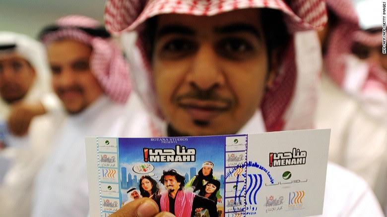 Image result for Saudi Arabia to Open Cinemas